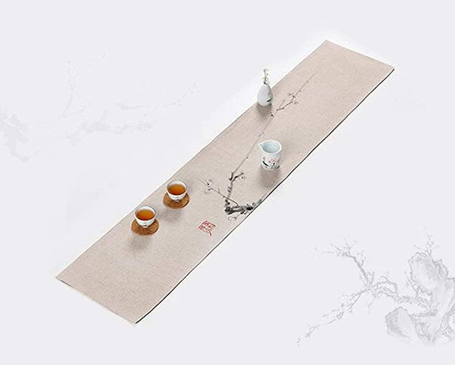 Xixuan Store Table Runner clothSatin Table Runner Chair Sashes Swags Wedding Party Table Decoration Table (Color : A, Size : 30120CM)