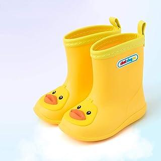 Rubber Boots For Men-Rubber Boots Summer Children's Rain Boots Boys Baby Rain Boots Light Non-slip Girls Rubber Shoes Children Baby Waterproof Overshoes  Rain boots