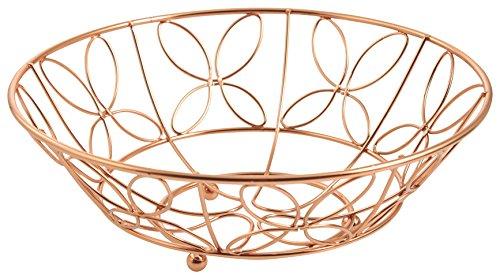 Galileo Casa New Copper Fruttiera, Rame, 28 cm