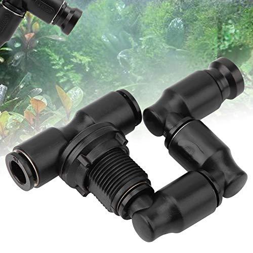 ミストスプリンクラー 霧吹き ミスト散水ノズル 調整可能 爬虫類飼育用 芝生 庭園 温室用 スプレー 散水用具 自動噴霧水やり 点滴灌漑 取り付け簡単
