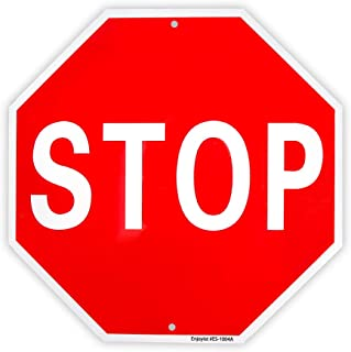 Stop Sign Street Slow Warning Reflective Signs 12