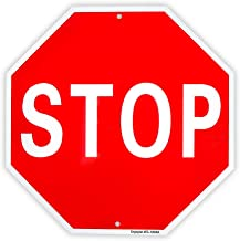 Stop Sign Street Slow Warning Reflective Signs 12