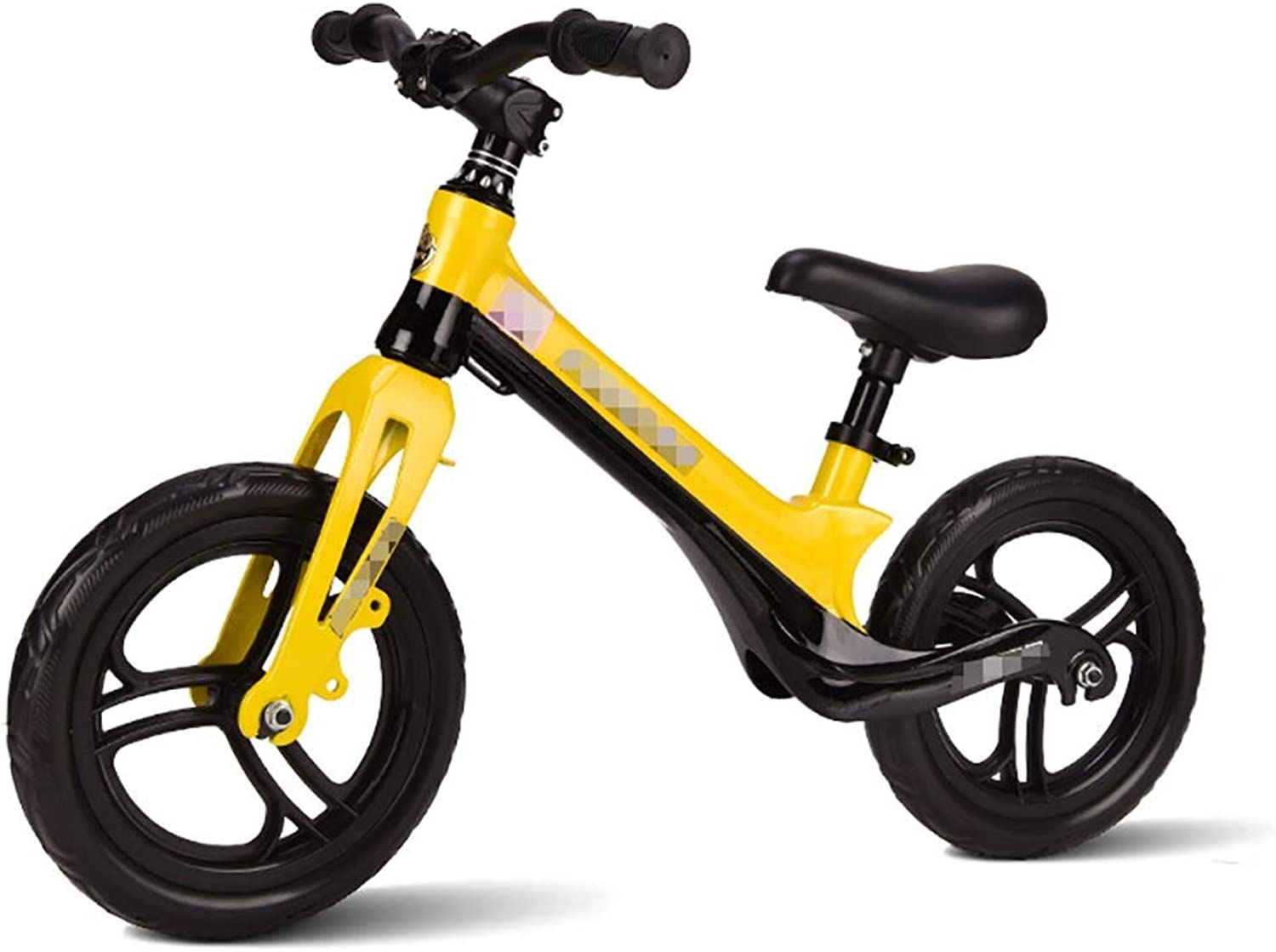 WENJUN balance bike, Toddler Training Bike For 2-6Year Old Kids Ultra Cool colors Push Bikes For Toddlers No Pedal Scooter Bicycle,2 colors ( color   Yellow )