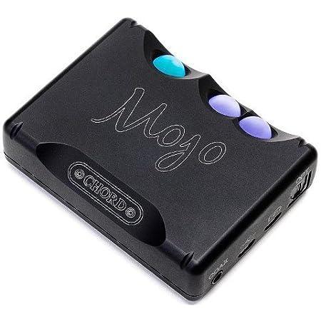 コード CHORD DAC搭載ポータブルヘッドホンアンプ Mojo ブラック MOJO-BLK【並行輸入品】