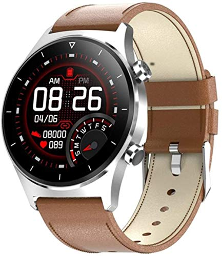 Smartwatch ritmo cardíaco oxígeno en sangre Bluetooth teléfono música cardiovascular reloj inteligente para mujeres y hombres-H
