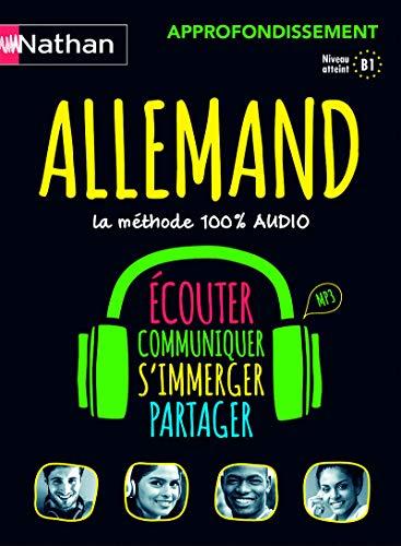 Allemand - Coffret Approfondissement 100% audio
