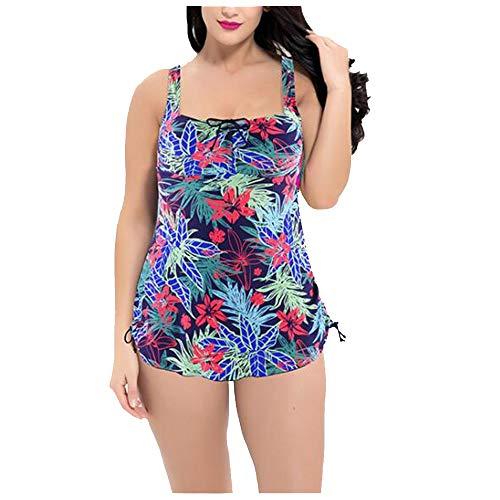 Liyuzhu Big Size Women's Swimsuit Dames Sexy One-Piece Swimsuit Printed Bikini (Color : A, Size : XXXXXXXXXXXXXL)