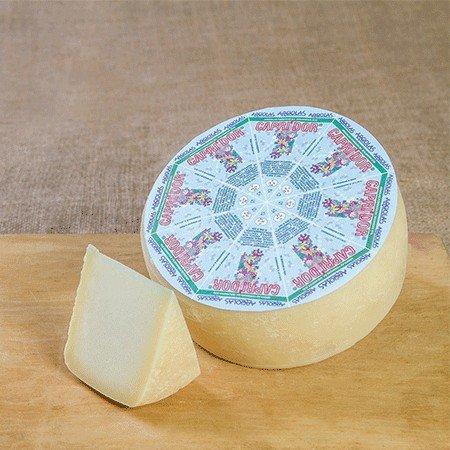 2 kg - Formaggio di capra fresco prodotto da Argiolas, Sardegna, dagli artigiani di Dolianova. Latte di capra selezionato accuratamente durante la mungitura