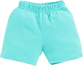 Hopscotch Boys and Girls Cotton Short in Blue Colour