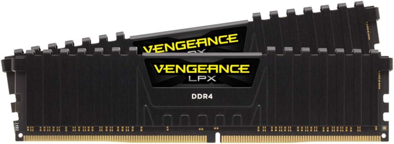 Corsair Vengeance - Kit de memoria, LPX 32GB (2x16GB) DRAM DDR4 3600Mhz C18 - Negro