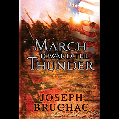 March Toward the Thunder  audiobook cover art