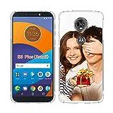 SHUMEI Coque personnalisée pour Motorola Moto E5 Play, cadeau photo personnalisée absorption des...