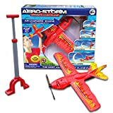 Top Secret Toys Aero-Storm Aerobatic Toy Stunt Plane with Air Powered Engine! High Flying Trick Airplane | Propeller Powered by Hand Pump Pressurized Air | STEM Toy for Ages 8 and Up