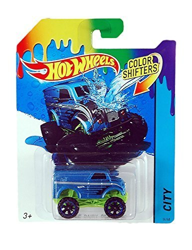 Hot Wheels City Color Shifters Monster Dairy Delivery Car by Hot Wheels