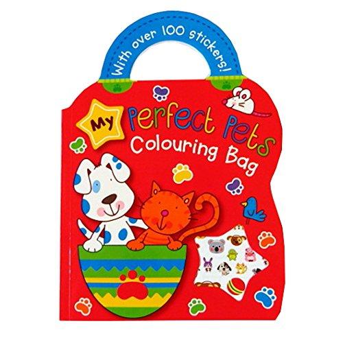 Emporter Coloration du livre pour enfants - Mes Parfaits Animaux de Compagnie - Avec une Feuille d'autocollants
