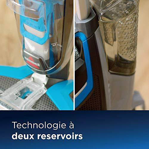 BISSELL CrossWave | Aspirateur/nettoyeur/sécheur 3-en-1 pour sols durs et moquettes | Fonctionne...