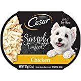 CESAR SIMPLY CRAFTED Adult Soft Wet Dog Food Meal...