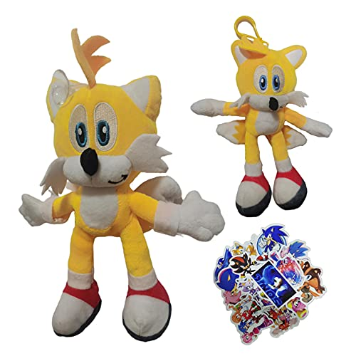 MIAOGO Llavero juguetes suaves Sonic El erizo Figura Modelo 2021 Juguete Supersonic Mouse Sonic el erizo