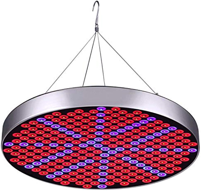 KX&VV Pflanzenlampe LED 50W High Power Pflanzenlicht Kronleuchter Runde Wachsen Lampe Vollspektrum Zimmerpflanzen Wachsen Licht für Jede Wachstumsperiode Gre  31  31  3.5CM