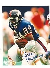 Autographed Zeke Mowatt New York Giants 8x10 Photo Inscribed 84 - Signed NFL Photos