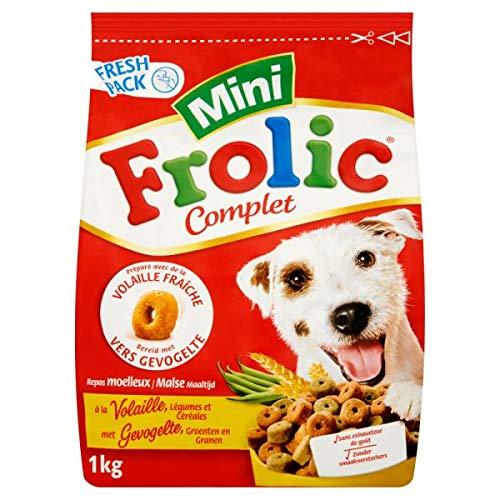 1 KG Frolic mini met gevogelte hondenvoer
