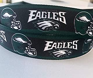 nfl ribbon for hair bows