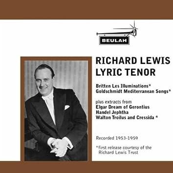 Richard Lewis Lyric Tenor