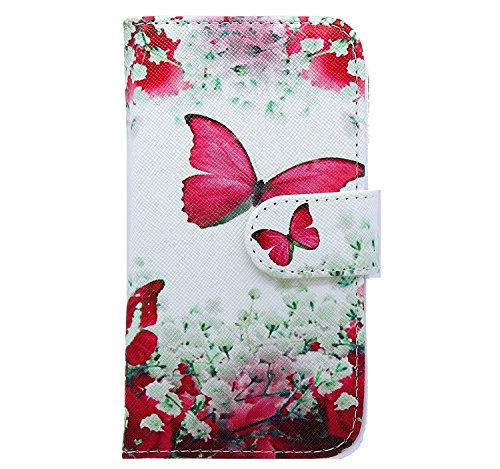NWNK13 Samsung Galaxy S3 Mini Case Cover Printed Side Open Book Wallet...