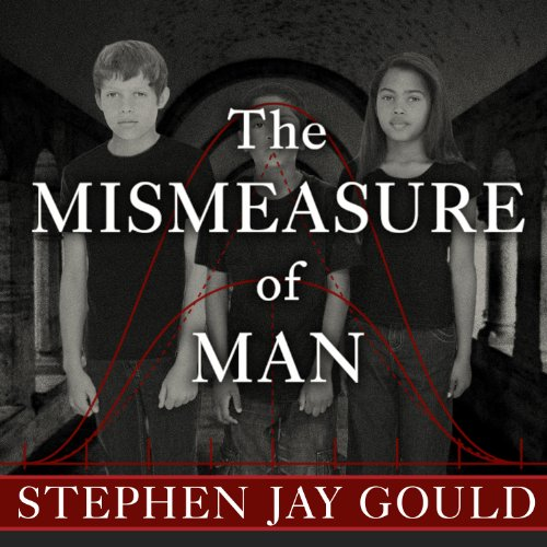 The Mismeasure of Man audiobook cover art