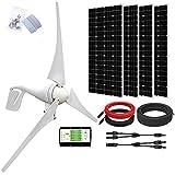 ECO-WORTHY 1200 Watts Solar Wind Turbine Generator Power Kit: 1pc 400 Watt Wind...