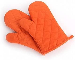 Orange Kentop Gants de Four Gants de Cuisine Gants Barbecue Cuisine cuisini/ère Four /à Micro-Ondes Gants de Cuisson R/ésistant Chaleur Antid/érapant