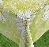 Miami Gartentischdecke, Daisy Green (grün), 160 cm, rund, 25893