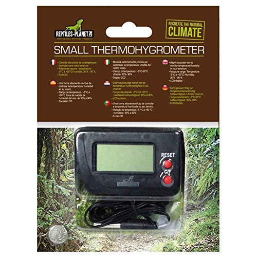 Rectiles Planet - Termometro e igrometro digitale per terrario, rettili