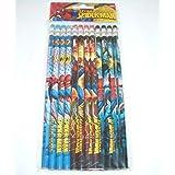 Marvel アルティメットスパイダーマン 木製鉛筆12本パック