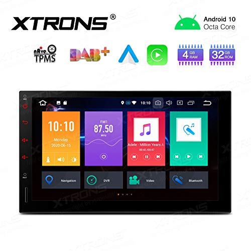 XTRONS 7 Inch Android Auto Car Stereo Radio Player Octa Core 4G RAM 32G ROM HD Digital Multi-Touch...
