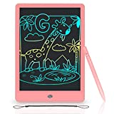 LCD Writing Tablet 10inch Colorful Screen Doodle & Scribbler Boards, Erasable and Reusable Drawing Tablets, Educational and Learning Kids Toys for 3 4 5 6 7 8 Year Old Boys and Girls
