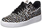 Nike Air Force 1 '07 Lv8 JDI, Sneakers Basses Homme, Multicolore Black/White/Total...