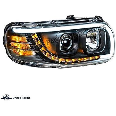 2010 Peterbilt MODEL 388 Side Roof mount spotlight LED -Black 6 inch Passenger side WITH install kit
