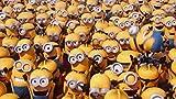 OKJK 1000 Piezas Rompecabezas Adultos Alivio del estrés Niños Juegos intelectuales Minions Familia Papel Multicolor Personalizar Personalización Creatividad