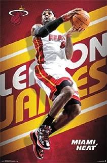 LEBRON JAMES - MIAMI HEAT - NBA POSTER - 22