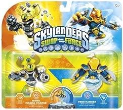 Skylanders Swap Force Exclusive 2 Pack Nitro Magna Charge & Free Ranger (Swap-Able)