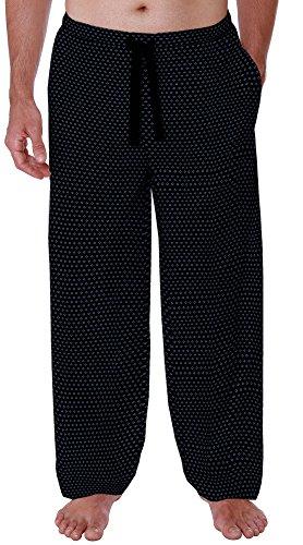 IZOD Men's Rayon Woven Sleep Pant, Circle Print, Large