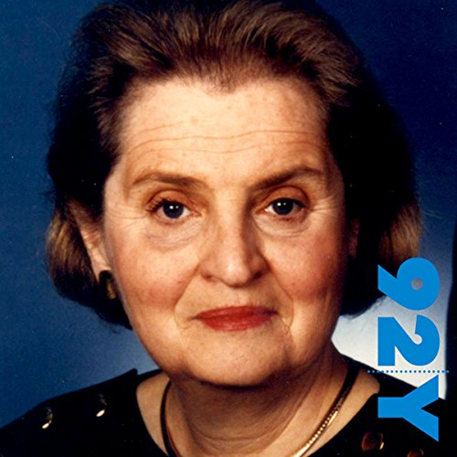 Madeleine Albright at the 92nd Street Y on The Role of Religion in World Politics audiobook cover art