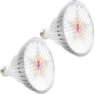 [Pack of 2]100W LED Plant Lights Bulb - Daylight Full Spectrum Grow Lights for Indoor Plants, E26 150 LEDs Grow Light Bulb for Indoor Garden Houseplants Seedlings Vegetable
