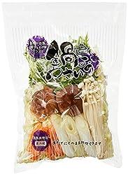 国内産 旭物産 鍋用野菜セット(中) 1パック390g 2~3人前 【消費期限まで1日】