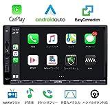 ATOTOインダッシュダブルディンデジタルメディアカーステレオ-SA102スターター-CarPlay&Android Auto対応-Bluetoothハンズフリー/オーディオ-AM/FMラジオチューナー-USBビデオ&オーディオ