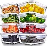 Recipientes para Alimentos [8 Pieza 1000 ml]...