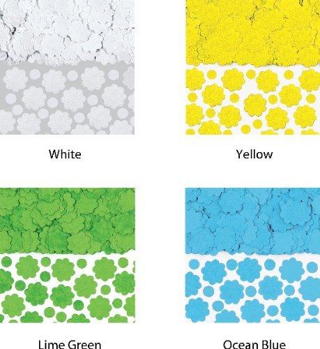 Amscan Papier Blanc Fleur Confettis