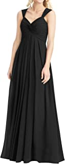 Bridesmaid Dress Chiffon Long Prom Dress Sweetheart Evening Gown Formal Dresses for Wedding
