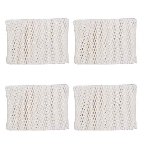 4 Pack Filters Replacement for Kaz Vicks WF2 Humidifier Filter Kaz3020 Vicks V3100 V3500 V3500N V3600 V3800 V3850 V3900 VEV320 and Honeywell HCM-300T HCM-315T HCM-350